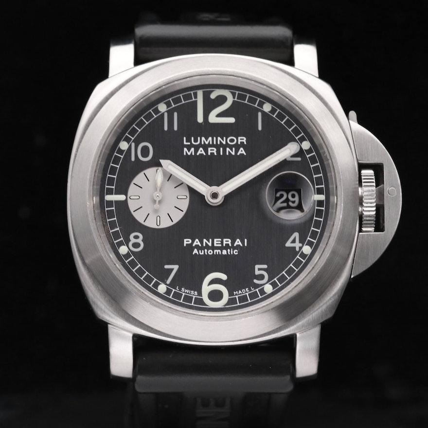 Panerai Luminor Marina Pam86 Stainless Steel Automatic Wristwatch,2003
