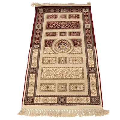 2'8 x 5'6 Power-Loomed European Tabriz Style Rug