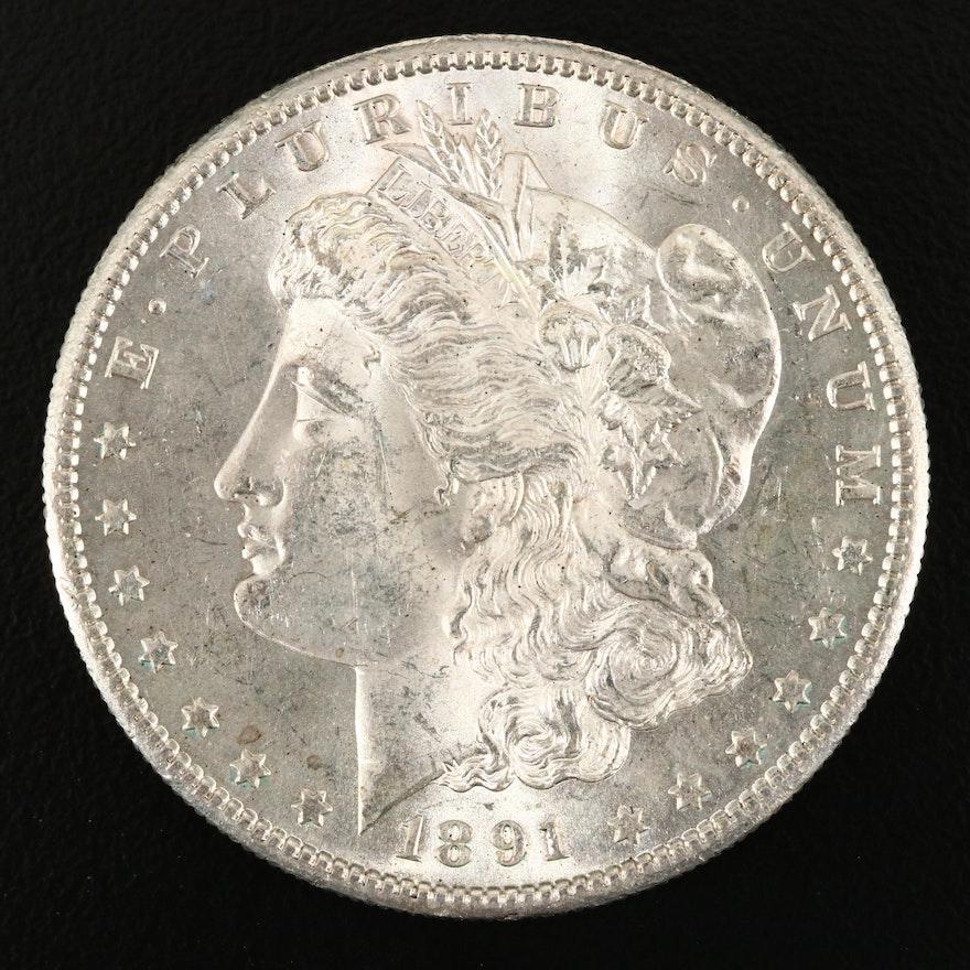 1891-S Morgan Silver Dollar