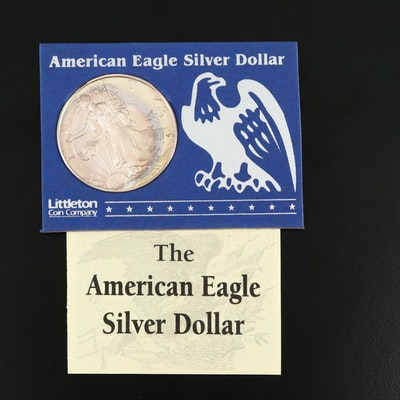 1997 American Silver Eagle Bullion Coin