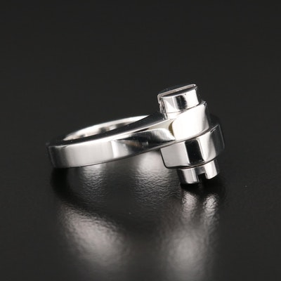 Cartier 18K White Gold Menotte Ring