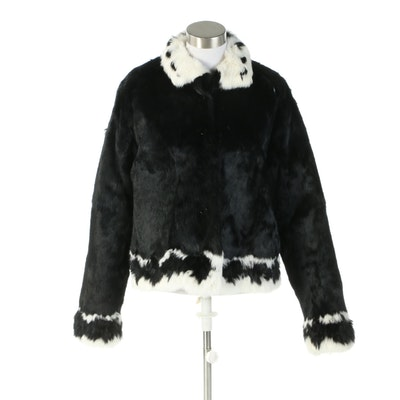 Dyed Rabbit Fur Jacket from Furs By Graf of San Diego, California