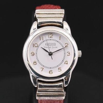 Ecclissi Sterling Silver Quartz Wristwatch