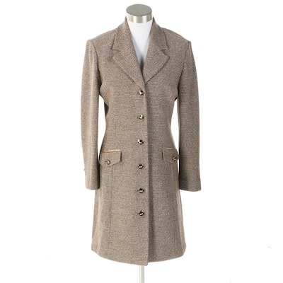 St. John Collection by Marie Gray Tweed Knit Coat