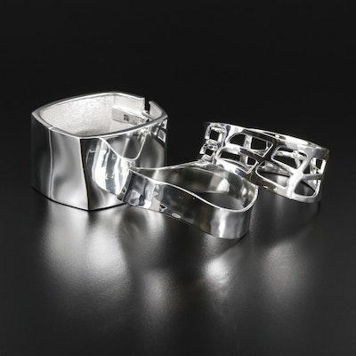 Robert Lee Morris Metal Bangle Bracelets