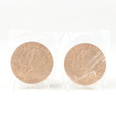 """2006 United States Mint """"Tuskegee Airmen"""" Commemorative Bronze Medals"""