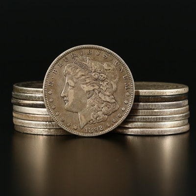 Fifteen Morgan Silver Dollars