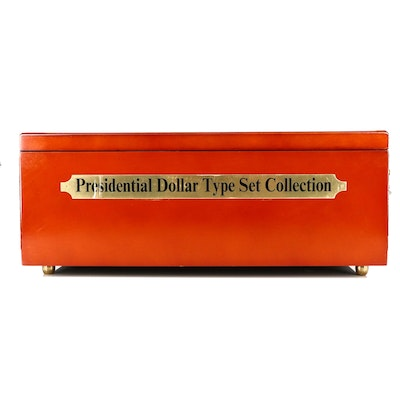 Set of Seventy-Two Uncirculated and Proof U.S. Presidential Dollars