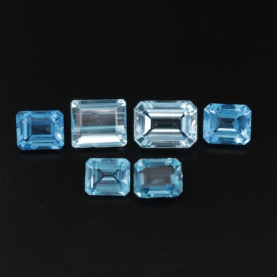 Loose 55.23 CTW Topaz Gemstones
