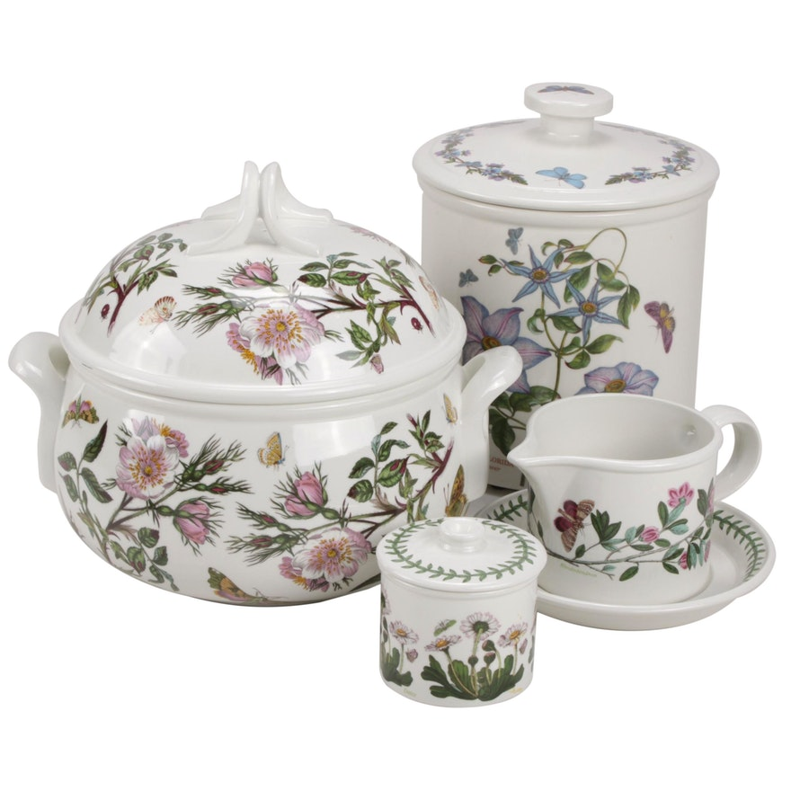 "Portmeirion ""The Botanic Garden"" Porcelain Serverware"