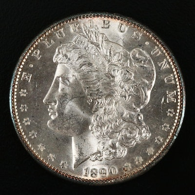 1890 Silver Morgan Dollar