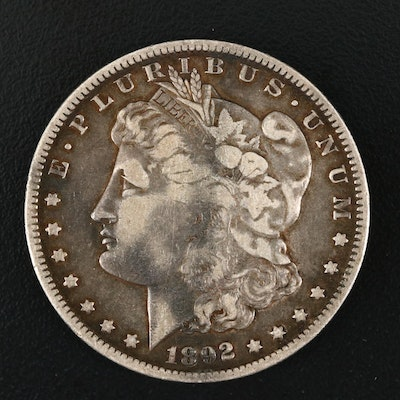 1892-O Silver Morgan Dollar