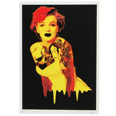 Death NYC Offset Print of Marilyn Monroe