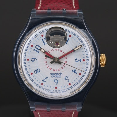 Vintage Swatch Classic Cheddar Automatic Wristwatch, 1994
