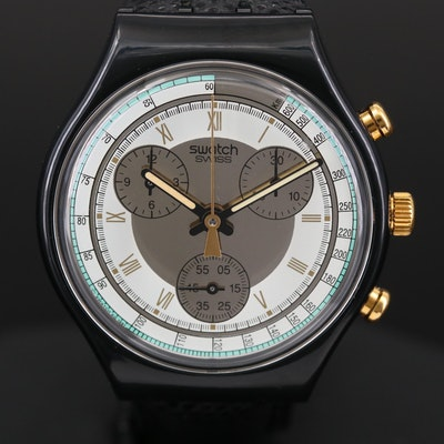 Vintage Swatch Colossal Quartz Chronograph Wristwatch, 1992