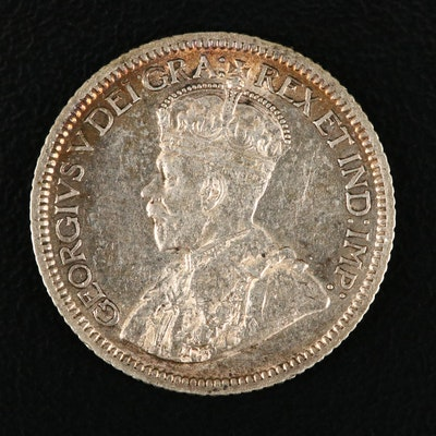 1931 Canadian Silver Dime