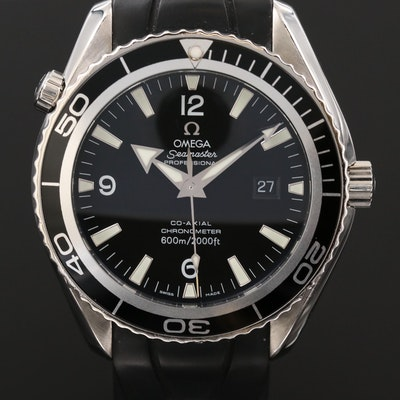Omega Seamaster Planet Ocean 600M Co-Axial Stainless Steel Wristwatch, 2007
