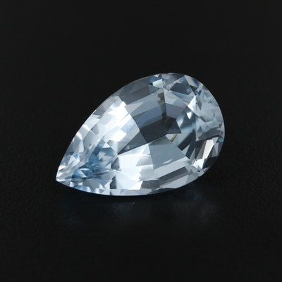 Loose Pear Faceted 30.32 CT Topaz Gemstone