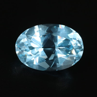 Loose Oval Faceted 23.54 CT Topaz Gemstones
