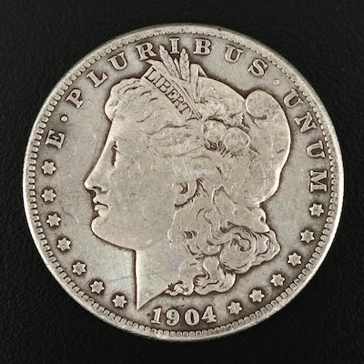 1904-S Silver Morgan Dollar