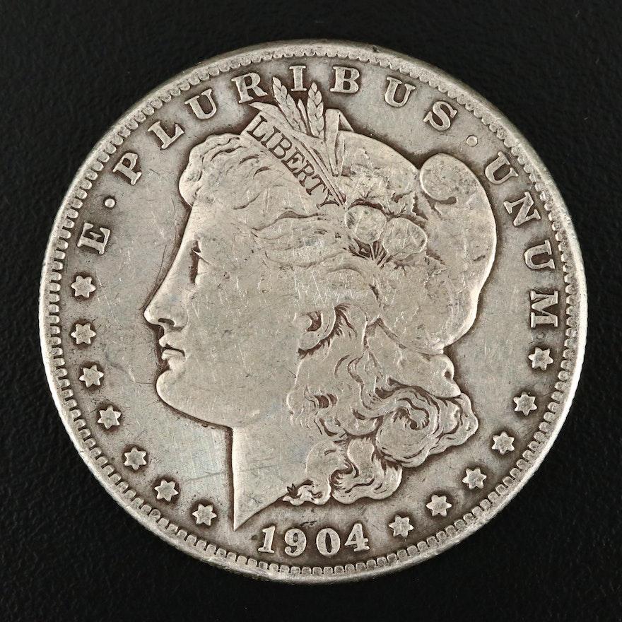 1904-S Silver Morgan Dollar