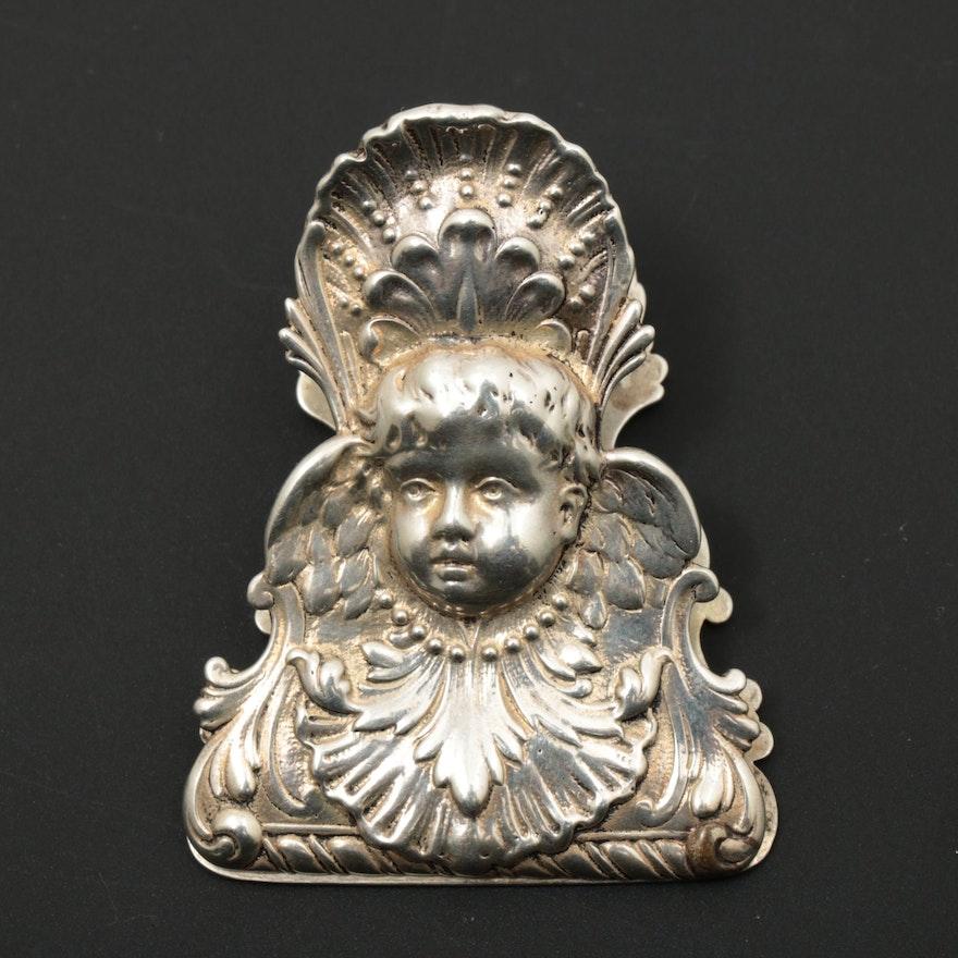 Gorham Sterling Silver Letter Clip, 1895