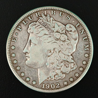 1902-S Silver Morgan Dollar