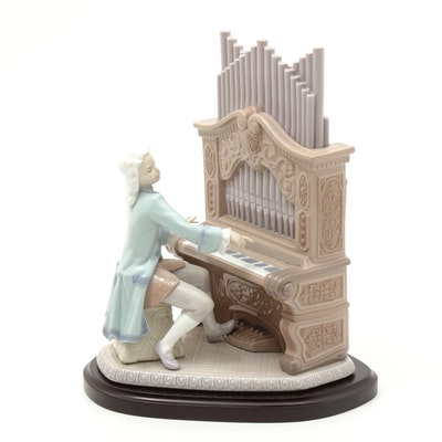 "Lladró ""Young Bach"" Porcelain Sculpture by Joan Coderch"