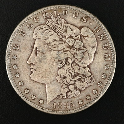 1885-S Silver Morgan Dollar