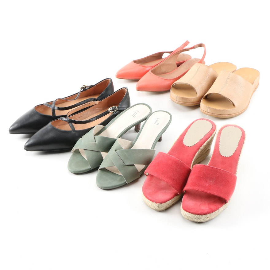 J. Jill, Boden, Corso Como and Kork-Ease Sandals and Flats with Boxes