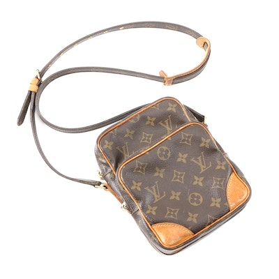 Louis Vuitton Amazon Crossbody in Monogram Canvas and Vachetta Leather