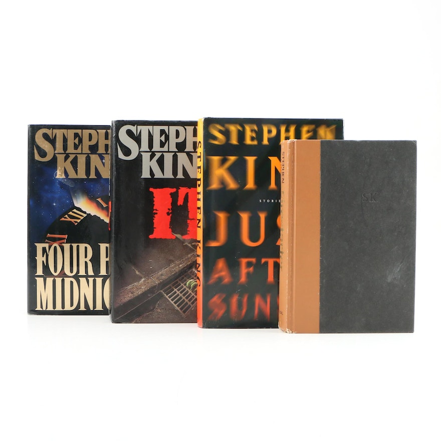 """First Printing """"Four After Midnight"""" with More First Edition Stephen King Books"""