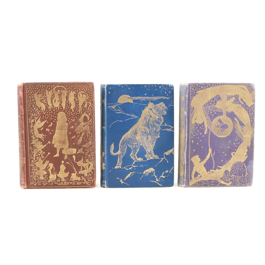 """The Brown Fairy Book"", ""The Violet Fairy Book"" and ""The Animal Story Book"""