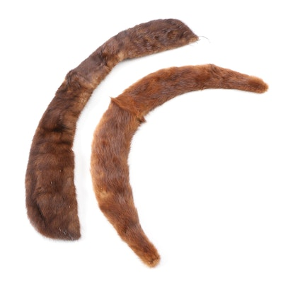 Mink and Marten Fur Collars