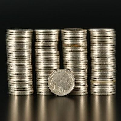 113 Readable Date U.S. Buffalo Nickels