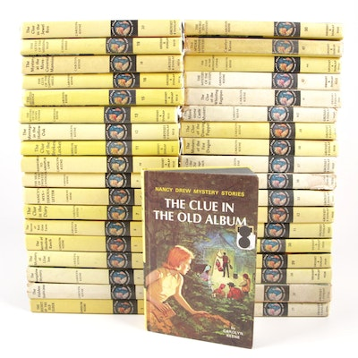"1962 - 1981 ""Nancy Drew Mystery Stories"", Thirty-seven Volumes"