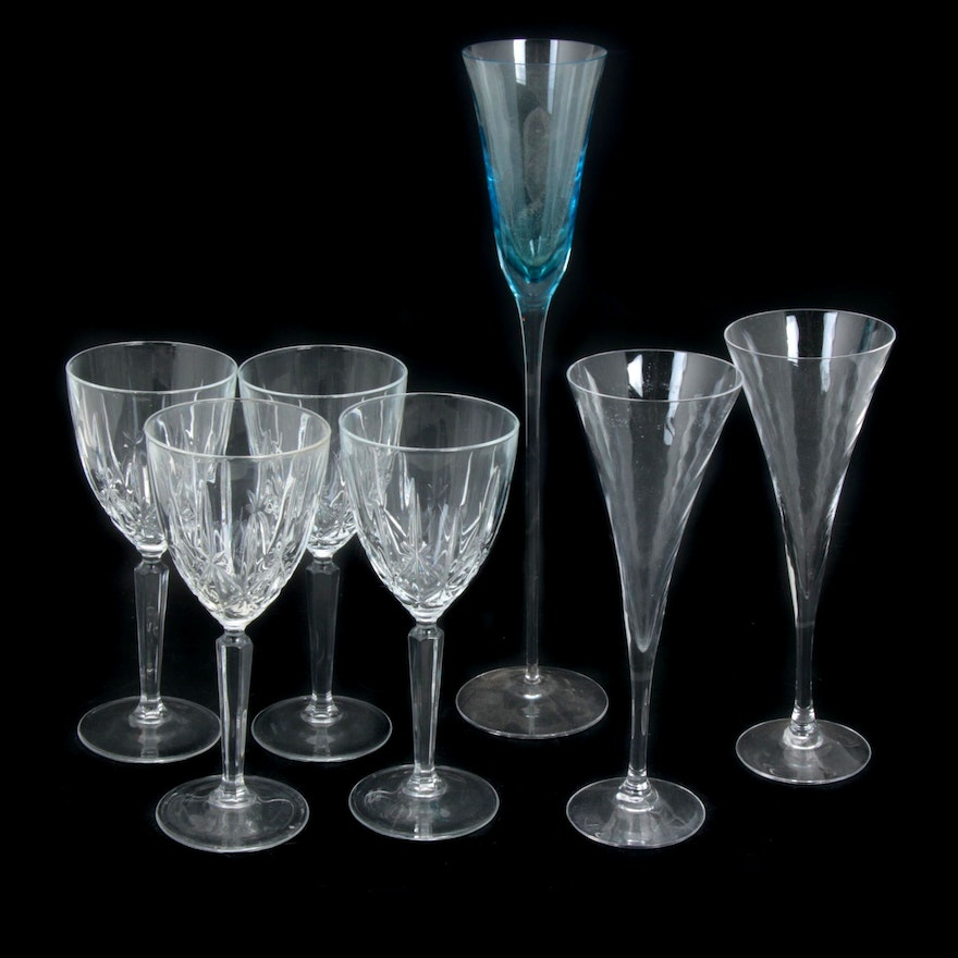 Marquis by Waterford and Orrefors Stemware