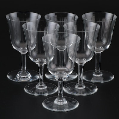 Baccarat Crystal Sherry Glasses