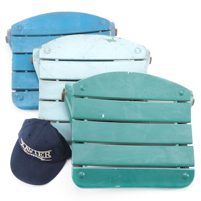 Cincinnati Gardens Xavier Musketeers Colors Seat Backs with Hat