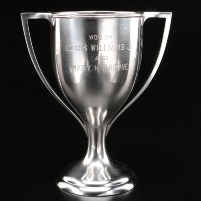 Bailey Banks & Biddle Sterling Silver First Place Trophy Cup, 1912