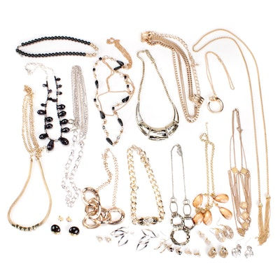 Statement Costume Jewelry Necklaces and Earrings
