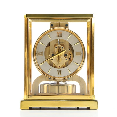 """LeCoultre Atmos Century """"The Perpetual Motion Clock"""", Mid 20th Century"""