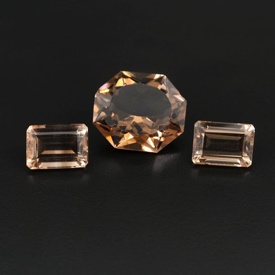 Loose 43.14 CTW Smoky Quartz Gemstones