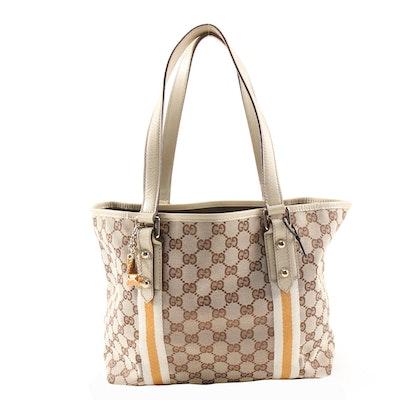 Gucci Jolicoeur GG Canvas Tote Bag