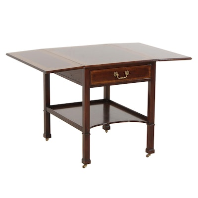 Chippendale Style Mahogany Pembroke Table, Mid to Late 20th Century