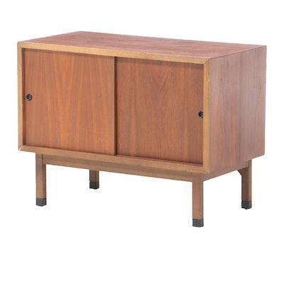 Mid Century Modern Lane Walnut Cabinet, circa 1968
