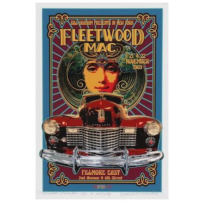 "David Edward Byrd Giclée Poster ""Fleetwood Mac at The Filmore East 1969"""