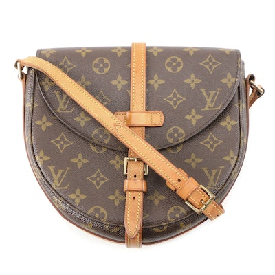 Louis Vuitton Chantilly Crossbody in Monogram Canvas and Vachetta Leather
