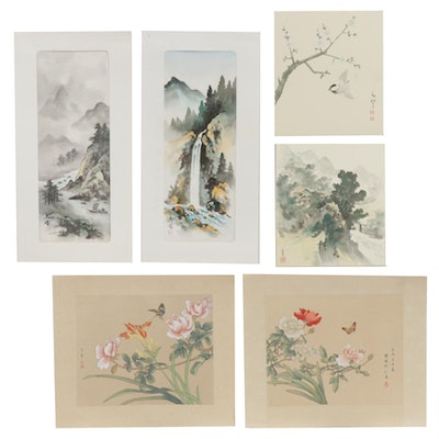 Chinese Gouache Paintings