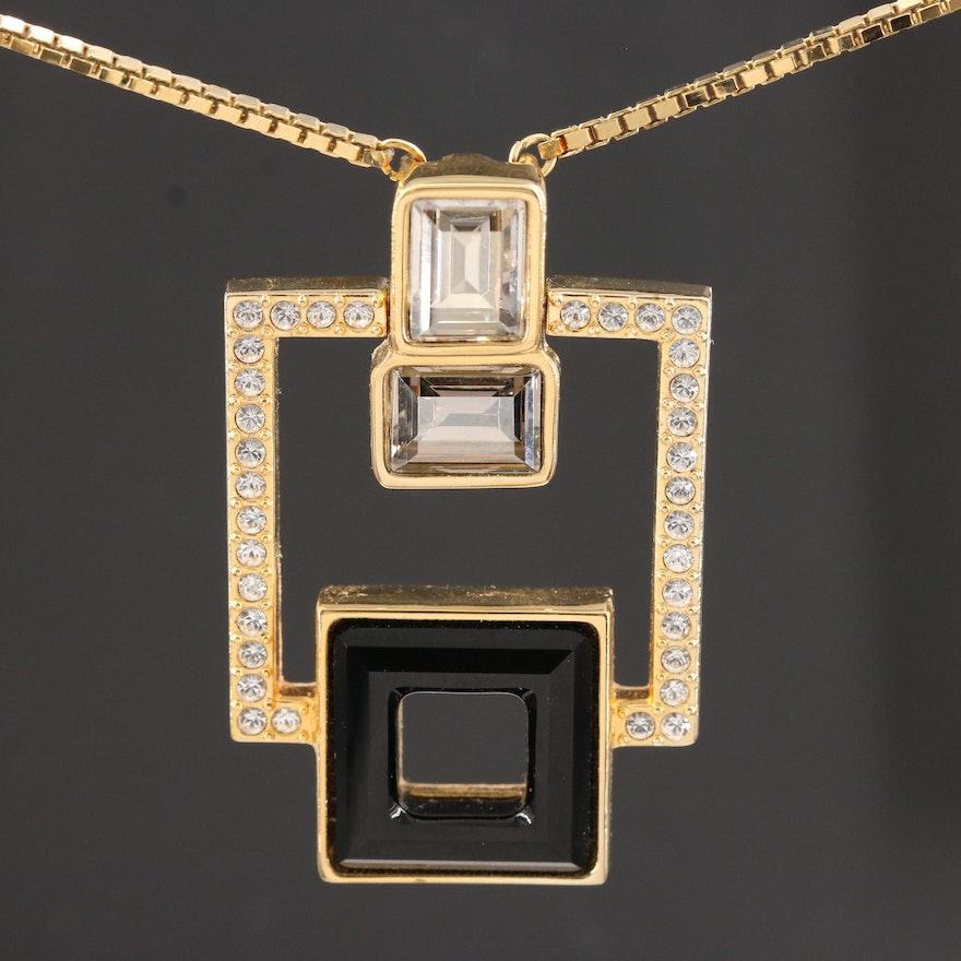 Glass Swarovski Necklace